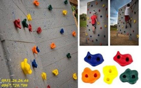 Leo núi nhân tạo – không gian vui chơi cho trẻ ngay tại nhà
