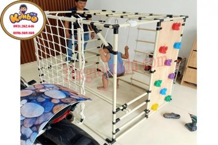 Bộ xà đu vận động cho bé phát triển toàn diện