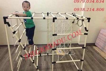 Bật mí đồ chơi vận động giúp bé phát triển toàn diện